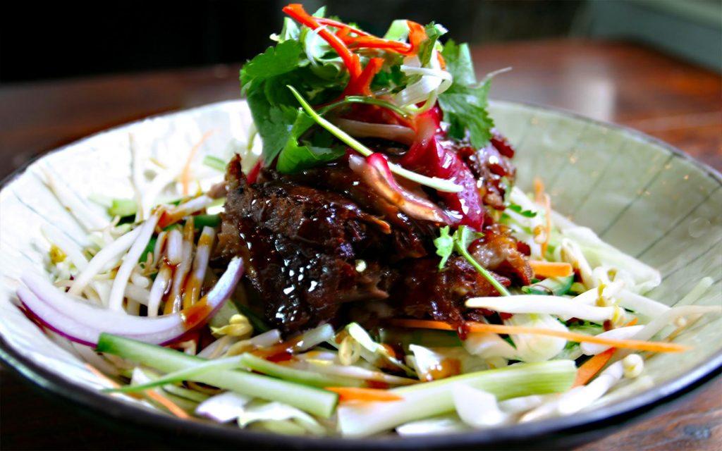 Crispy Soya Duck Salad